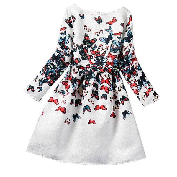 Choice of Girls Butterfly or Rose Dresses