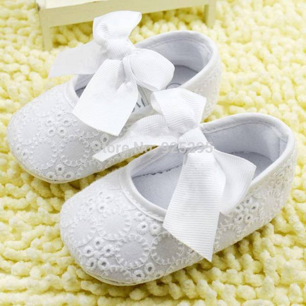 Choice of Girls Lacey Shoes with Bows