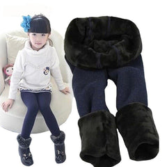 Choice of Girls Thick Fleece Lined Winter Leggings