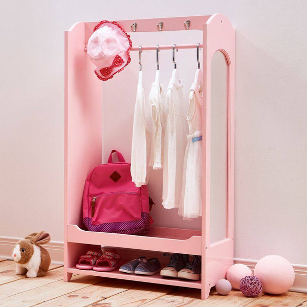 Teamson Kids - Windsor Dress Up Unit with Hooks - Pink