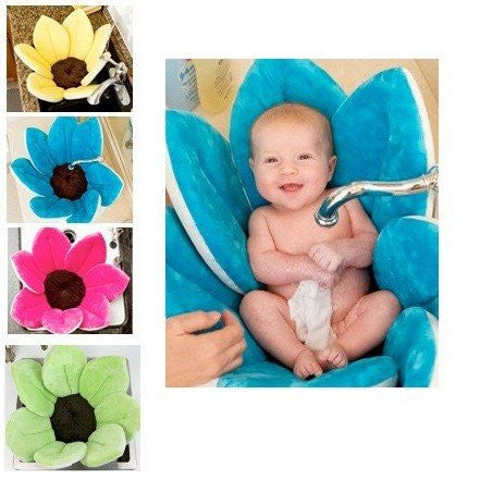 Flower Baby Bath Padded Mat. Multi-purpose.