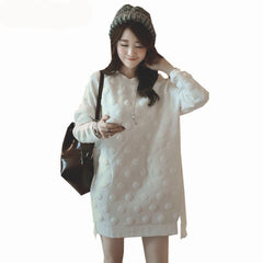 Choice of Maternity Sweater Shirt Dresses