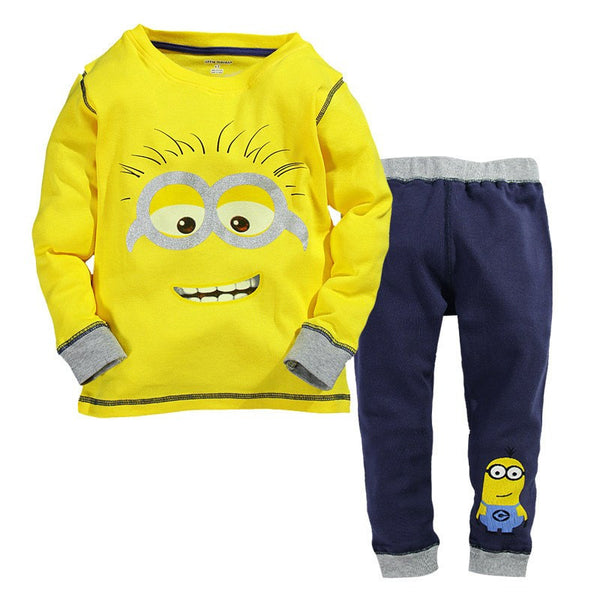 Minions Pajama Set, Shirt and Pants