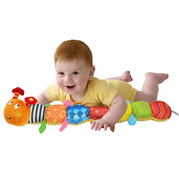 Plush Musical Interactive Multi-function Caterpillar Baby Toy