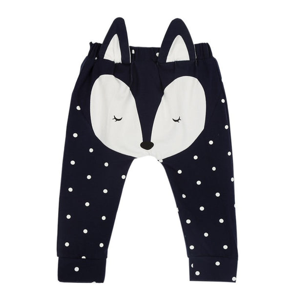 Cute Baby Animal Face Pants
