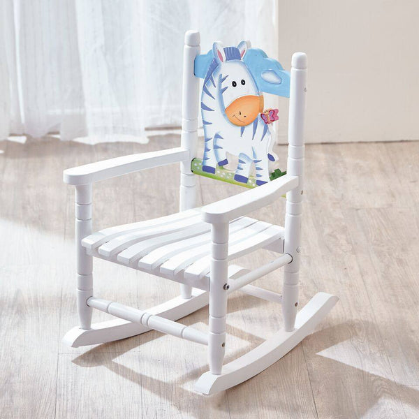Teamson Kids - Safari Rocking Chair - Zebra