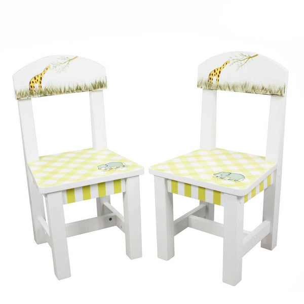 Fantasy Fields - Alphabet Set of 2 Chairs