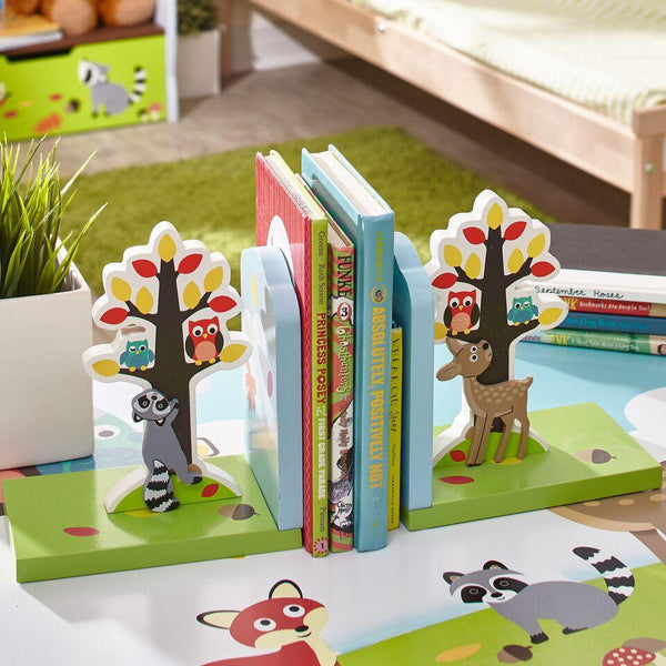 Fantasy Fields- Enchanted Woodland Set of Bookends