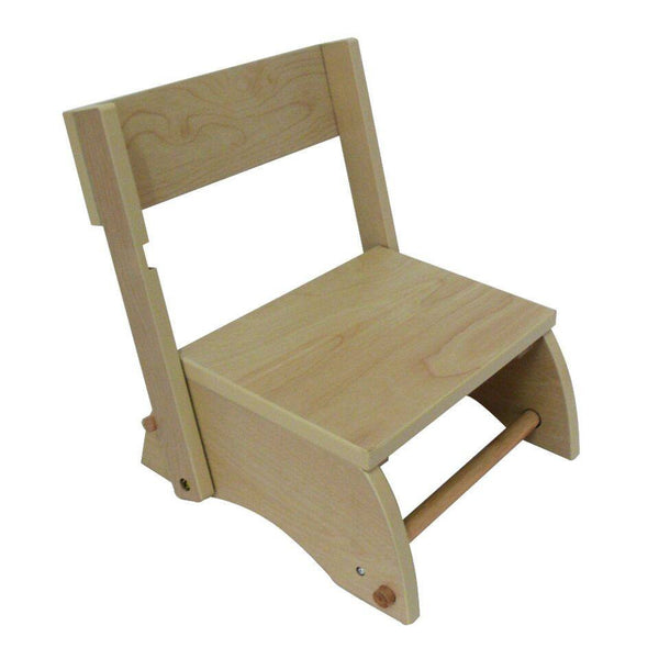 Teamson Kids - Windsor Step Stool - Small/Natural