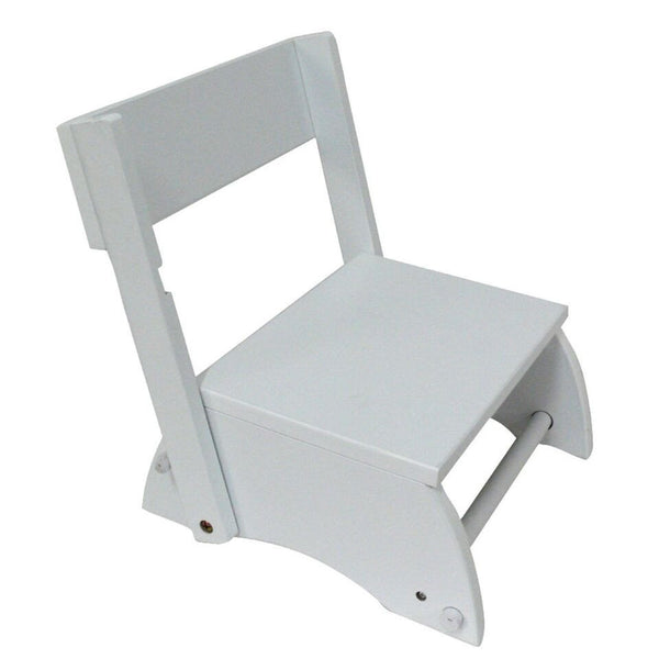 Teamson Kids - Windsor Step Stool - Small/White