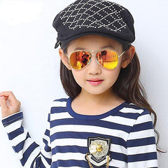 Choice of Boys or Girls Mirror Aviator Sunglasses. Choice of colors