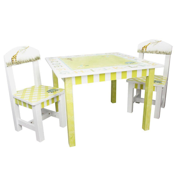 Fantasy Fields - Alphabet Table & Set of 2 Chairs