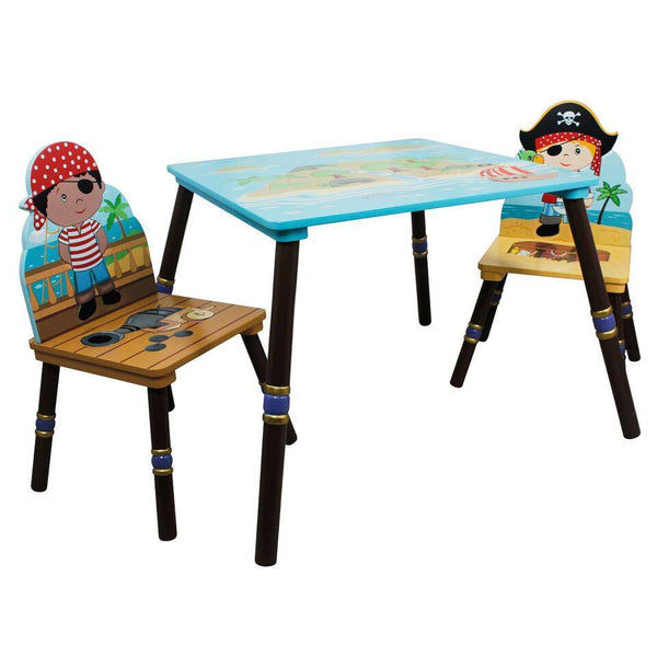 Fantasy Fields - Pirate Island Table & Set of 2 Chairs -A