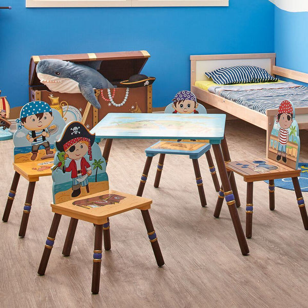 Fantasy Fields - Pirate Island Table & Set of 4 Chairs