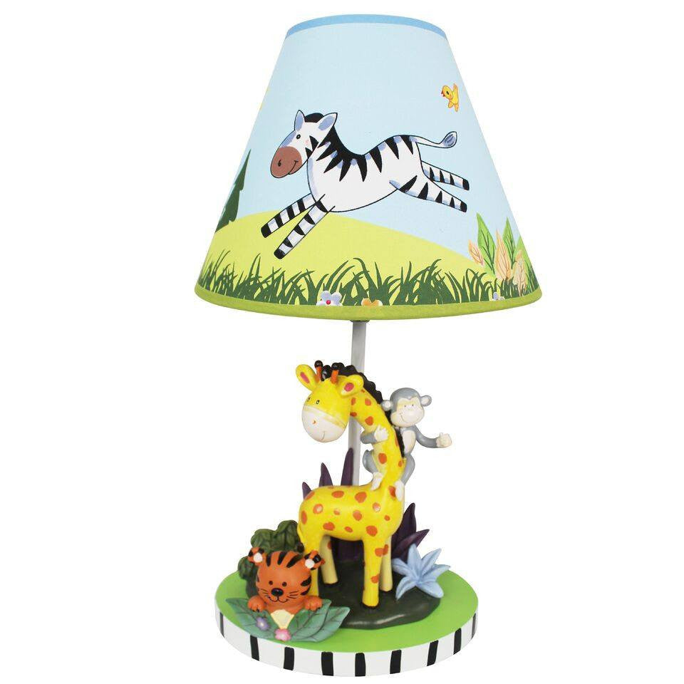 Fantasy fields sunny safari table lamp geotapseo Image collections