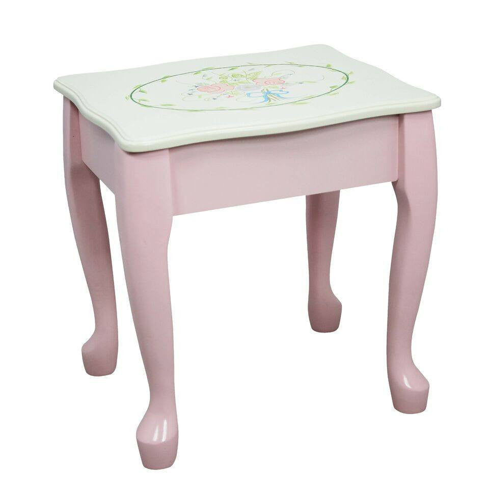 Fantasy fields bouquet classic vanity table stool set geotapseo Images