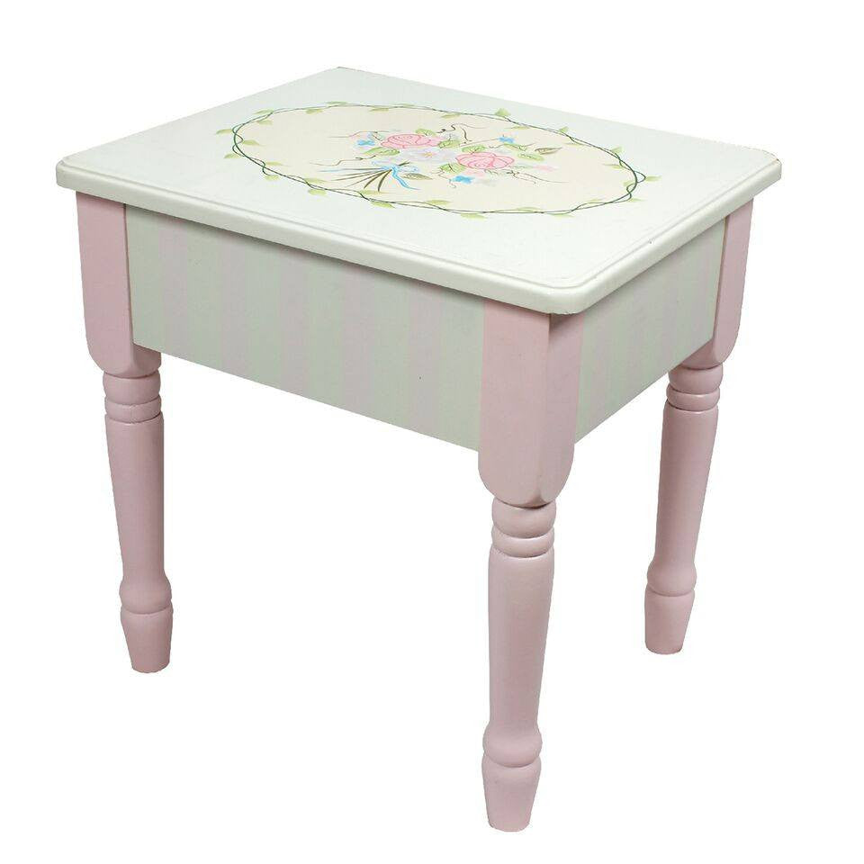 Fantasy fields bouquet vanity table stool set geotapseo Images