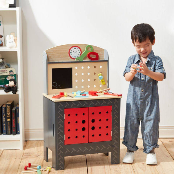 Teamson Kids - Little Engineer Foldable Workbench
