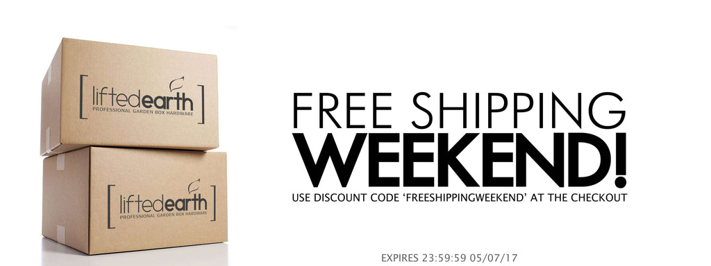 ITS A FREE SHIPPING KIND OF WEEKEND!