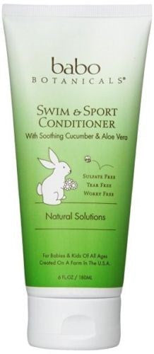 Babo Botanicals Swim & Sport Conditioner Cucumber Aloe - BEAUTY IT IS