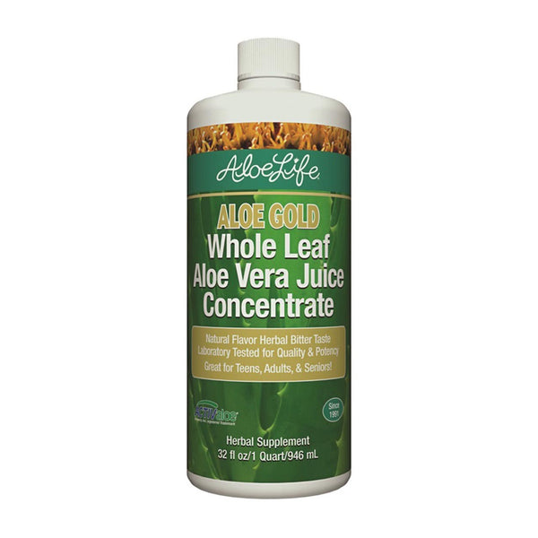 Aloe Gold Whole Leaf Juice Concentrate Quart