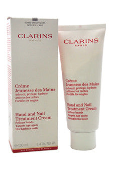 Hand and Nail Treatment Cream by Clarins 3.3 oz  Cream for Unisex