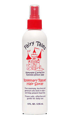 Fairy Tales New Rosemary Chemical Free Repel Hairspray(Formerly Spray & Shield), 8 oz