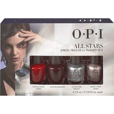 OPI All Stars Collection Nail Lacquer Set of 4
