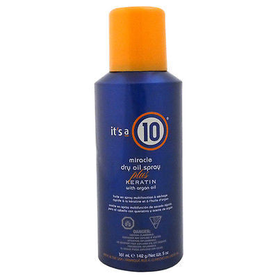 It's A 10 -  Miracle Dry Oil Spray plus Keratin, 5 oz