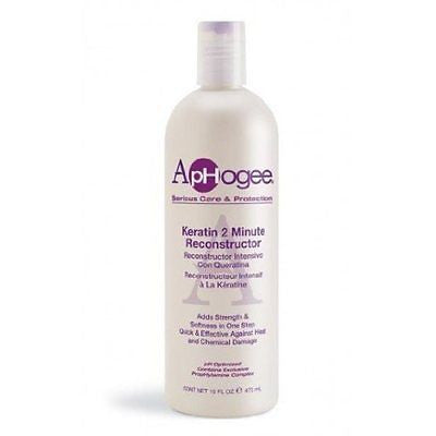 ApHogee Intensive Two Minute Keratin Reconstructor, 16 oz - BEAUTY IT IS