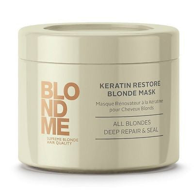Schwarzkopf BlondMe Keratin Restore Blonde Mask, 6.76 oz - BEAUTY IT IS