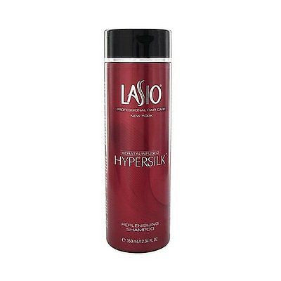 Lasio Keratin Infused Hypersilk Replenishing Shampoo, 12.34 Ounce