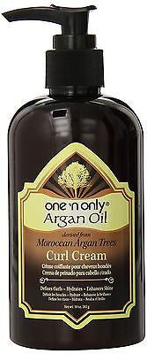One `N Only Argan Oil from Moroccan Argan Trees Curl Cream, 9.8 oz