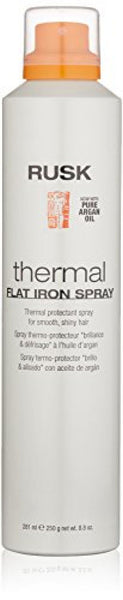 RUSK Designer Collection Thermal Flat Iron Spray with Argan Oil, 8.8 fl. oz.