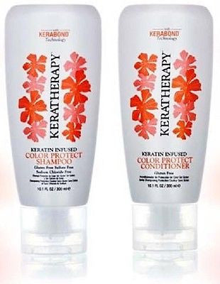 Keratherapy Keratin Infused Color Protect Shampoo & Conditioner, 10.1