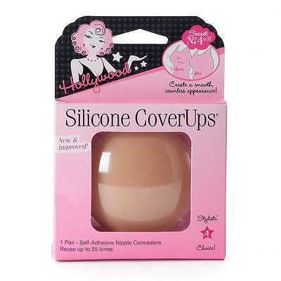 Hollywood Fashion Silicone Cover Ups,1 Pair - BEAUTY IT IS