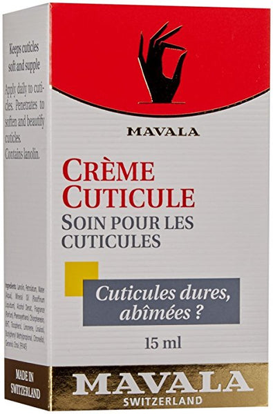 Mavala Cuticle Cream for Soft and Beautiful Cuticles, 0.5 Ounce