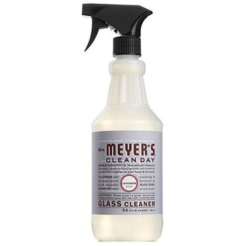 Mrs. Meyer's Glass Cleaner, Lavender, 24 Fluid Ounce
