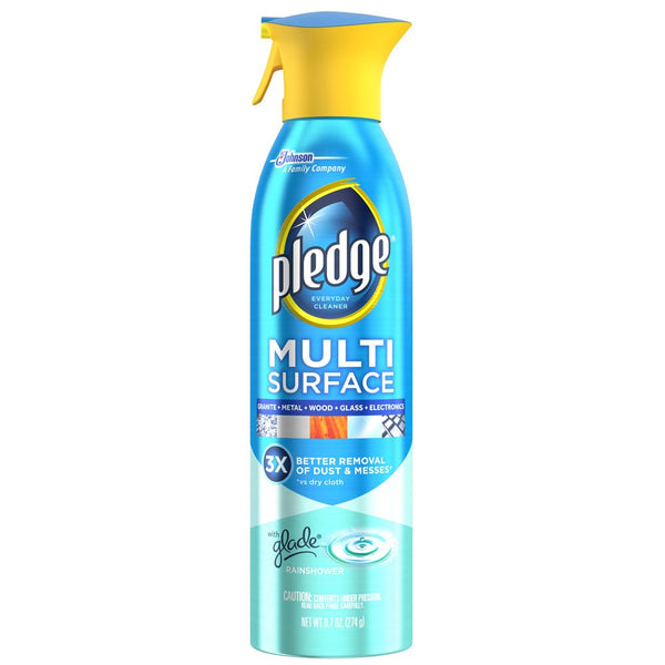 Pledge® Multi Surface Glade® Rainshower Scent Everyday Cleaner, 9.7 oz