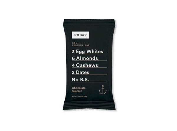 RXBAR Chocolate Sea Salt, Protein Bar, 1.83 oz