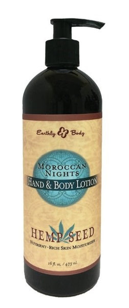 Moroccan Nights Hemp Seed Hand and Body Lotion, 16 oz - BEAUTY IT IS