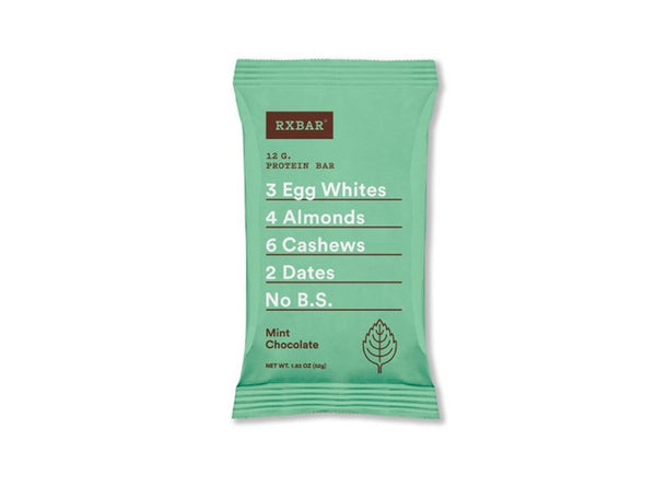 RXBAR Protein Bar, Mint Chocolate, 1.83 oz