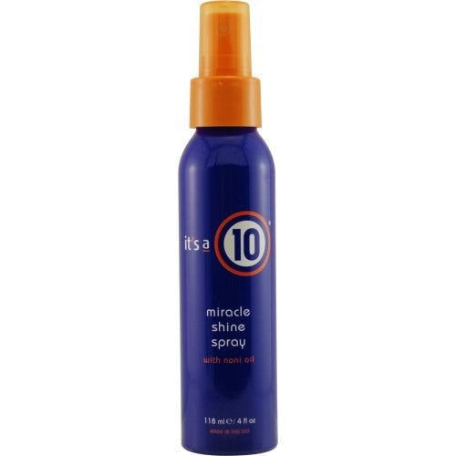 It's A 10 miracle shine spray with noni oil 4 fl oz