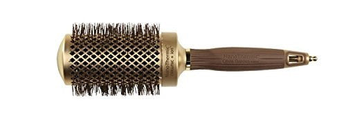Olivia Garden Nano Thermic Ceramic Ion Brush, 2 1/8 Inch