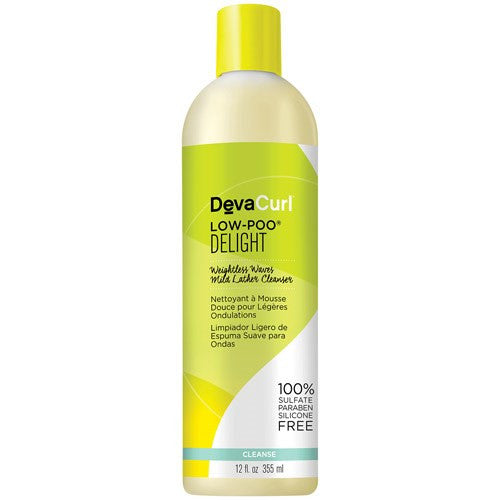 DevaCurl Delight Low-Poo, 12 oz