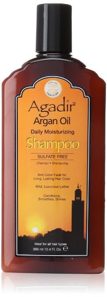 Agadir Argan Oil Daily Moisturizing Shampoo, 12.4 oz