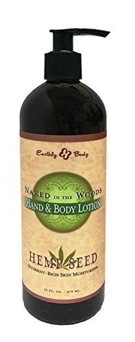 Naked in the Woods Hemp Seed Hand and Body Lotion, 16 oz - BEAUTY IT IS