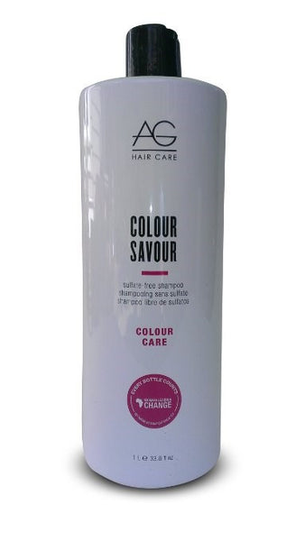 AG Hair Colour Savour Shampoo, 10 oz - BEAUTY IT IS
