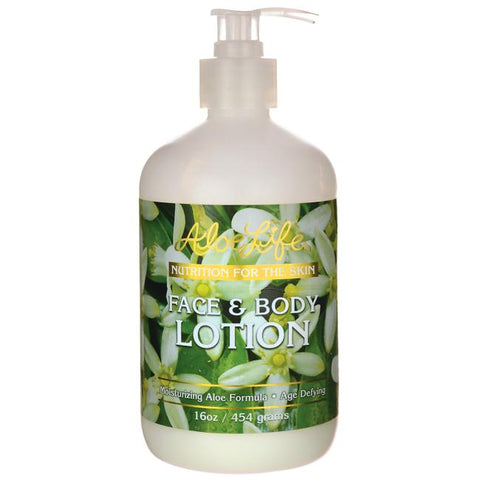 Face & Body Lotion 16oz