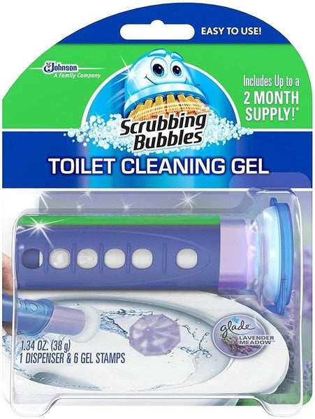 Scrubbing Bubbles Toilet Cleaning Gel - Lavender